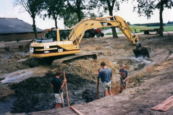 Aanbouw vijver en natuur noasman beltrum