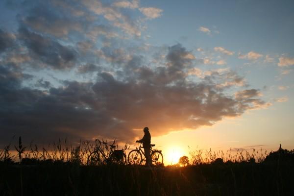 Het Noasman bij zonsondergang
